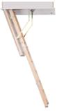 Zoldertrap Roto Quadro 3 hout Vouwbaar in 3 delen warmte isolerend