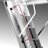 Zoldertrap Roto Designo hout Vouwbaar in 3 delen armleuning
