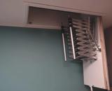Zoldertrap Roto Ecco Aluminium schaartrap telescopische armleuning