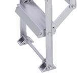 Zoldertrap Roto Piccolo Aluminium vervangtrap Verpakt in karton