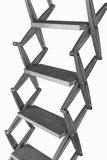 Zoldertrap Roto Junior Aluminium vervangtrap met veersysteem