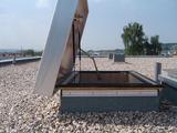 Zoldertrap Roto Platdak uitgang Aluminium schaartrap warmte isolerend