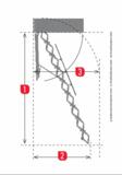 Zoldertrap Roto Platdak uitgang Aluminium Dubbel luik Perfect isolerend maten